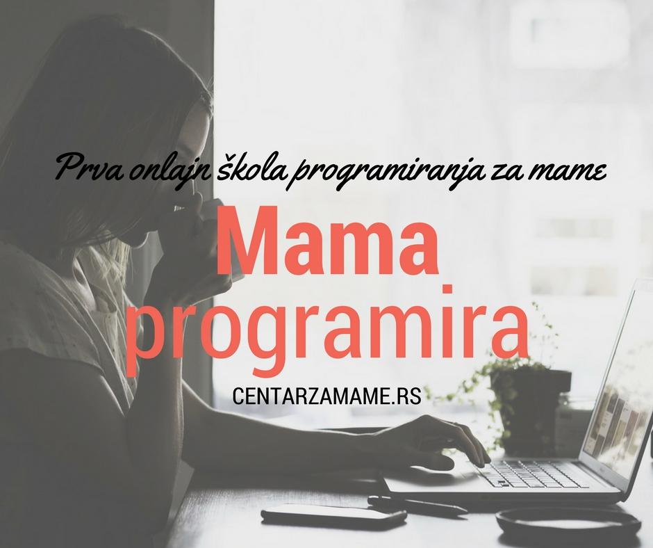 Mama programira Centar za mame