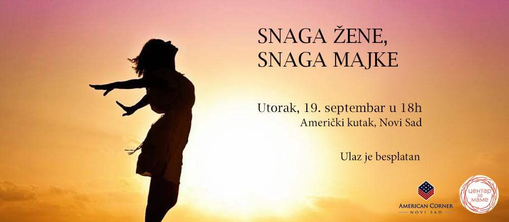 Radionica u Novom Sadu: Snaga žene, snaga majke