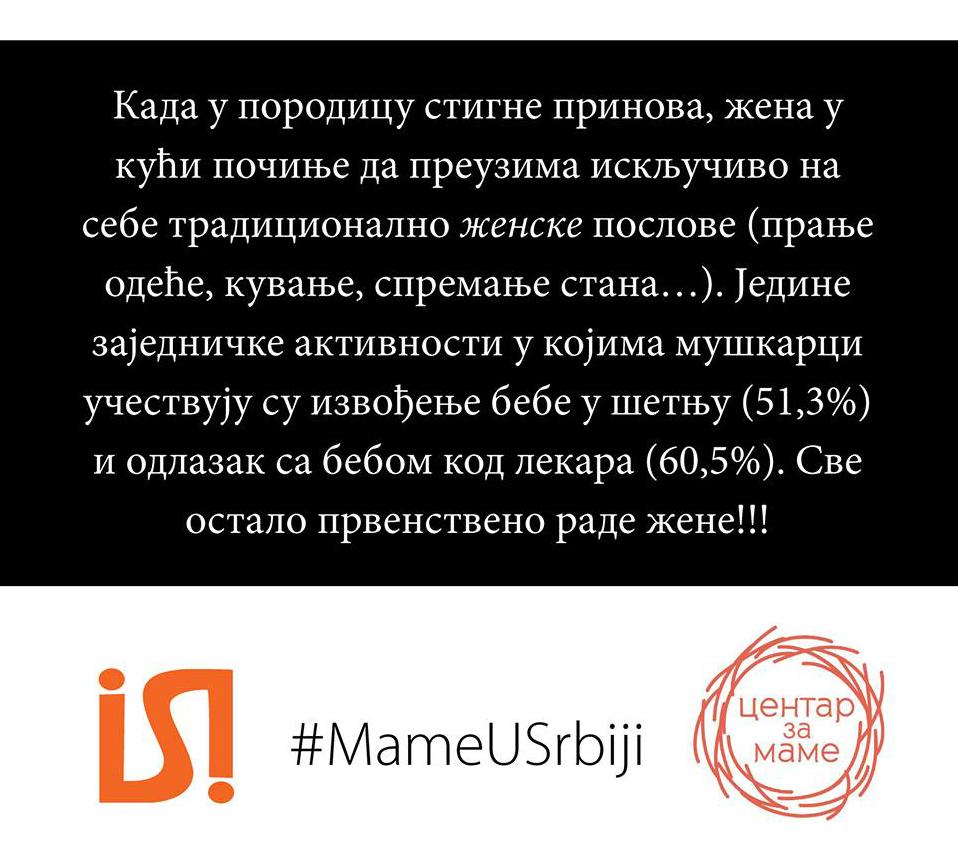 Izveštaj Mame u Srbiji Centar za mame